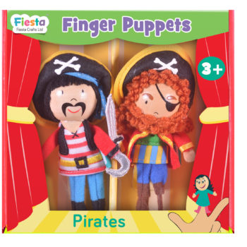 Pirates Finger Puppet Set