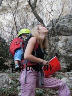 Vaude Kenta Babahordozó, háti hordozó :piros