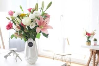 Beitragsbild: Blumen online im Abo versenden mit Bloomy Days - Test und Erfahrungsbericht plus DIY Idee