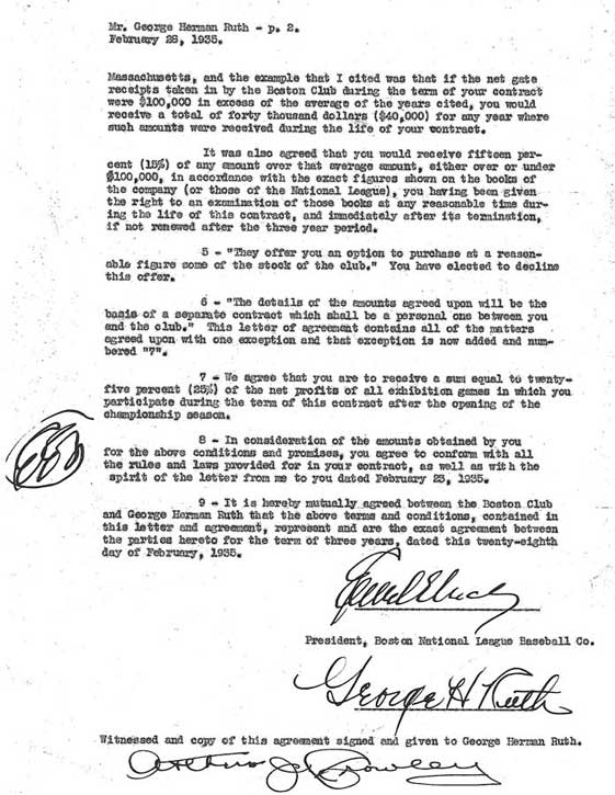 Babe Ruth Agreements - Babe Ruth Central