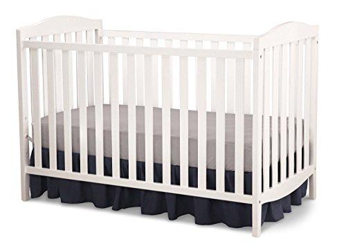 Delta Children Capri 3 In 1 Crib White Babiesme Babiesme