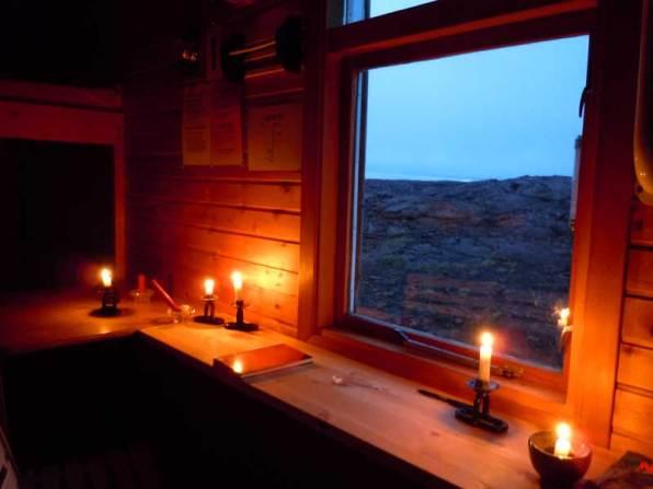 Inside the Botni Hut