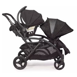 Small Crop Of Contours Double Stroller