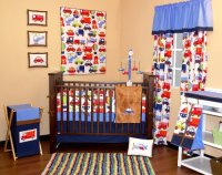 Bacati Transportation Crib Bedding Collection - Baby ...