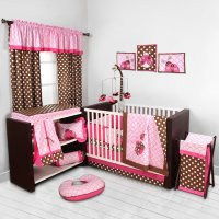 Bacati Lady Bugs Baby Bedding and Accessories - Baby ...