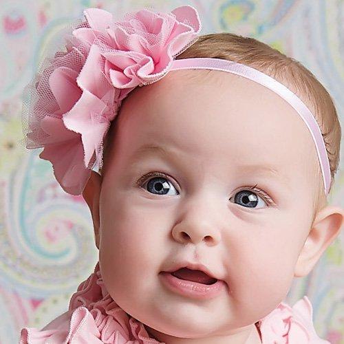 Pink Baby Girl Romper - Ava by Lemon Loves Layette