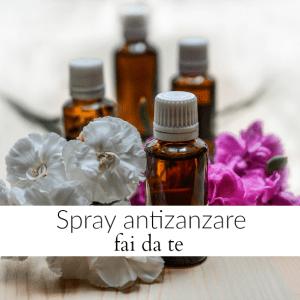 Spray antizanzare fai da te