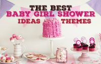 The Best Baby Girl Shower Ideas (Pictures & Tips)