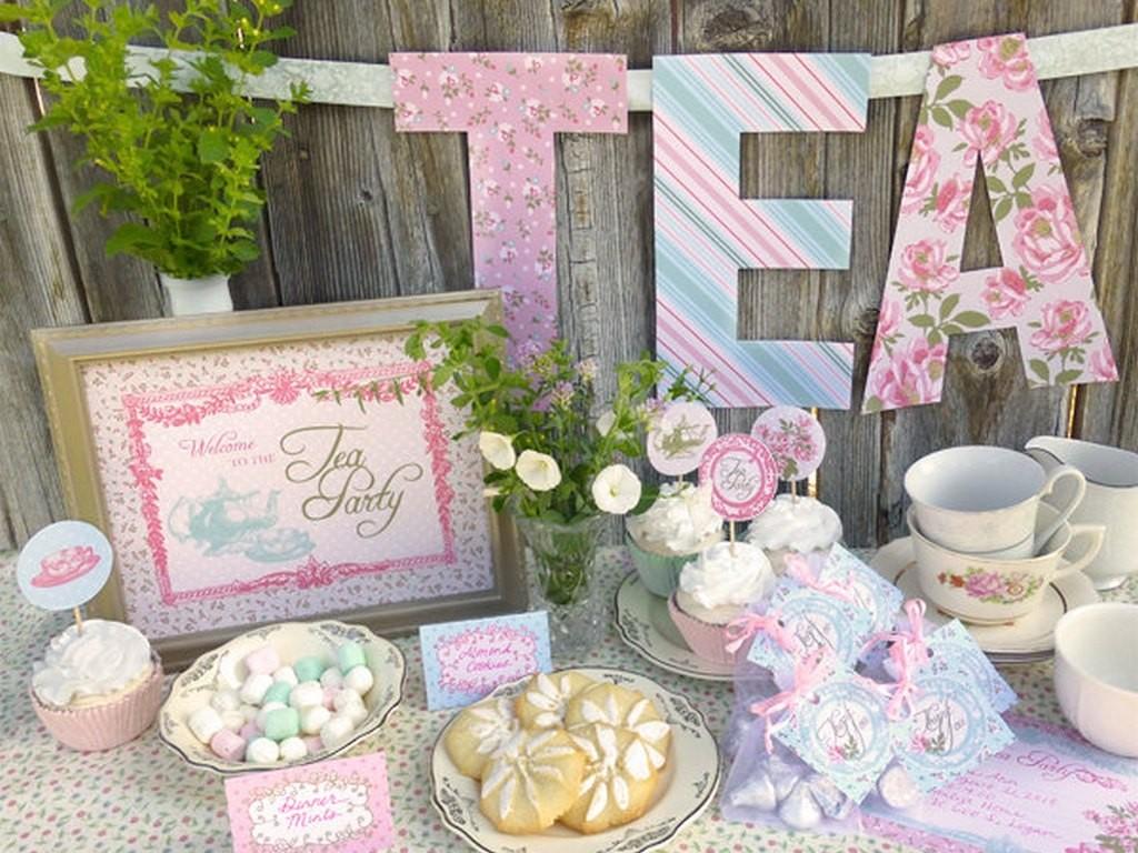 Tea Party Baby Shower Ideas Baby Ideas