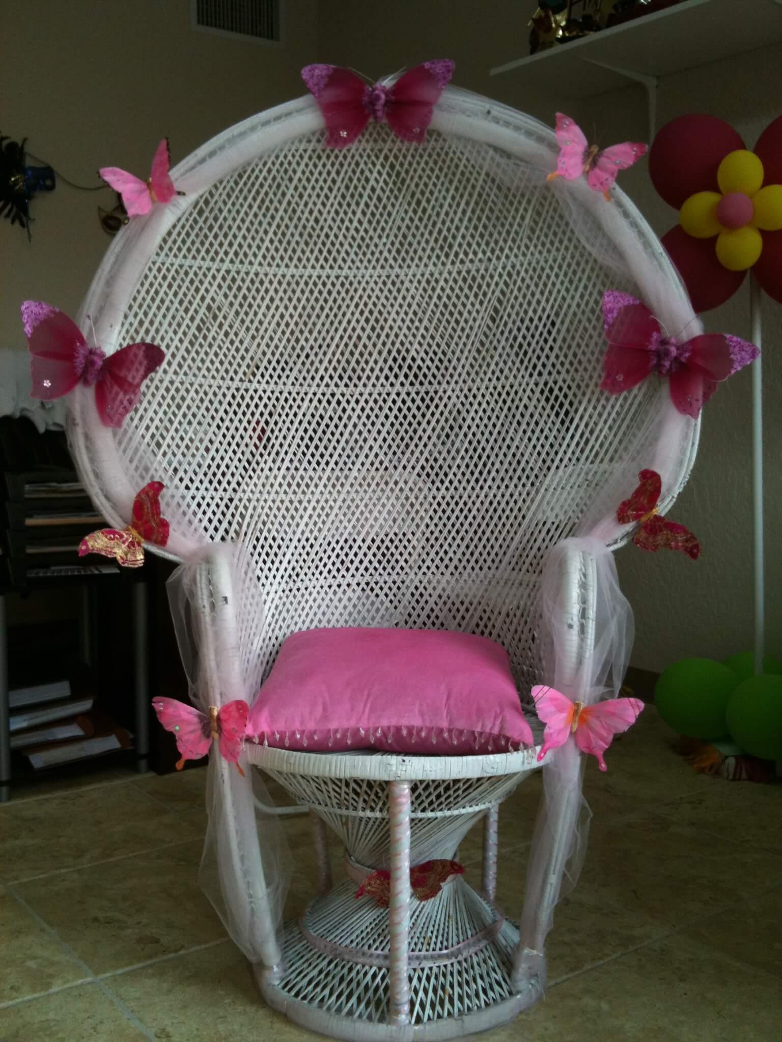 Baby shower chair ideas baby shower chair ideas