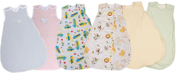Baby sleeping bags, also called baby sleep sacks for infants and