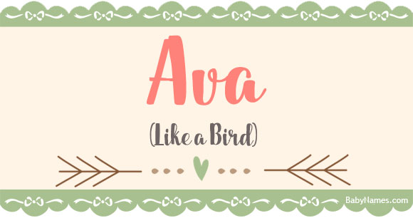 Baby Boy N Girl Wallpapers Ava Meaning Of Name Ava At Babynames Com