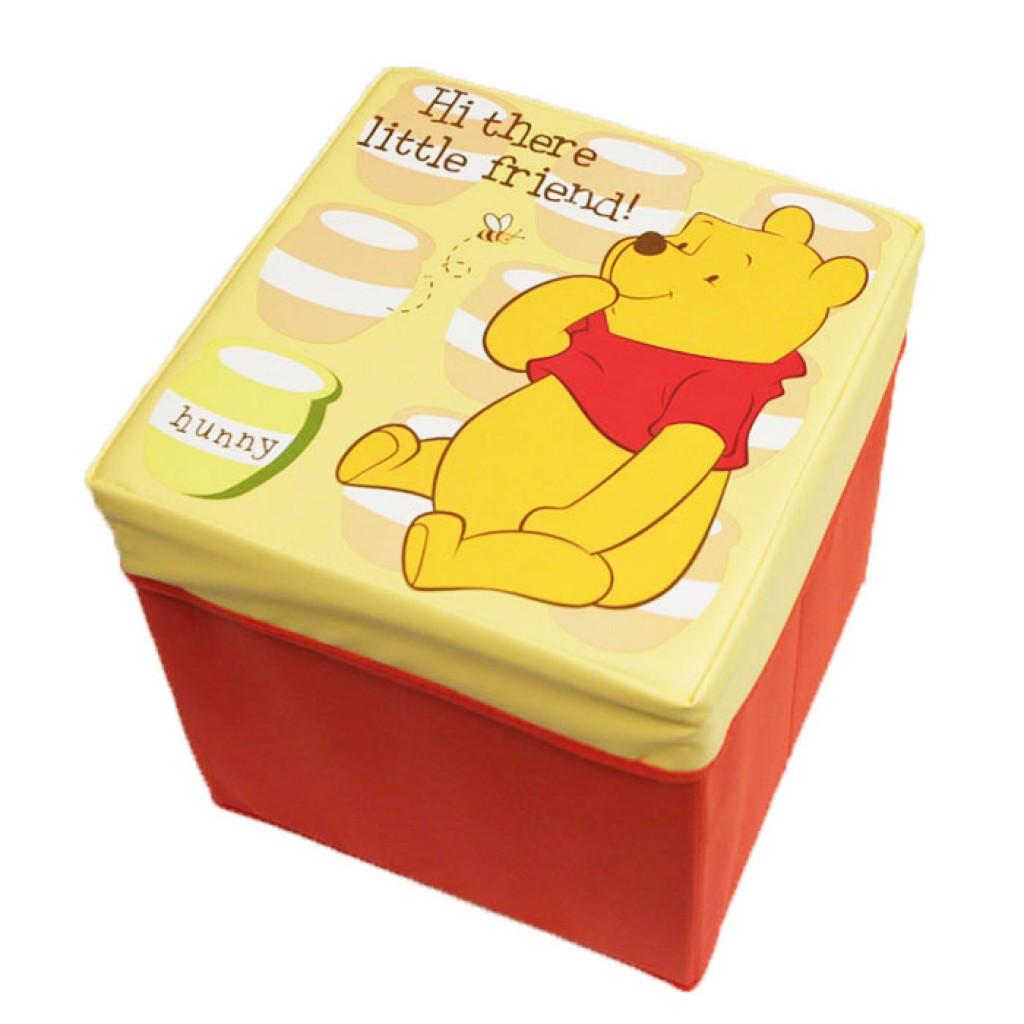 Disney Stool Storage Box Winnie The Pooh S Babyonline