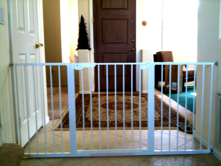 Baby Safety Tension Pressure Gate For Child Baby Safe Homes