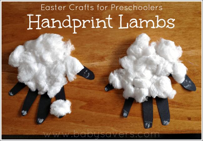 sheep crafts for preschoolers