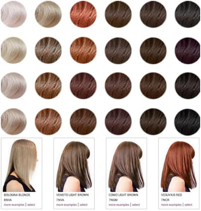 Madison Reed Promo Code Save 50 on Salon-Quality Hair Color! - hair color chart