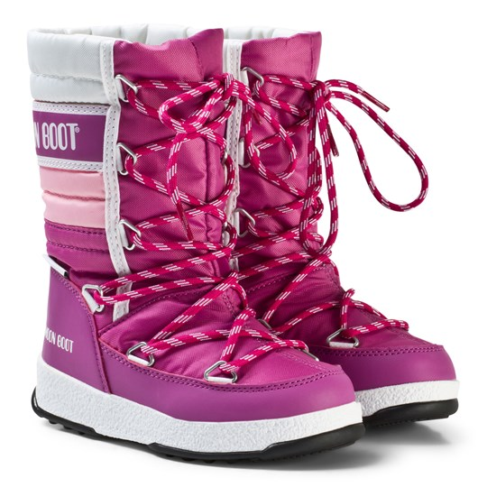 Moon Boot Tecnica Moonboot R We Quilted Jr Orchid Pink