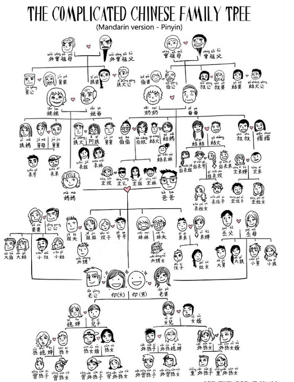 Chinese Family Tree \u2013 Baby Shop SG Baby Products Singapore