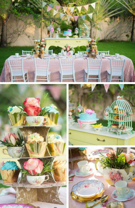 Tea Party Collection Birthday Party Ideas Themes