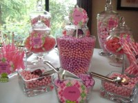 Pink and Green Baby Shower - Baby Shower Ideas - Themes ...