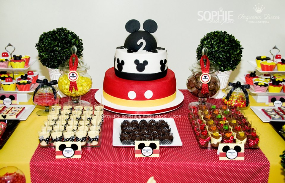 Mickey Mouse Baby Shower Ideas - Baby Shower Ideas and Shops - mickey mouse boy birthday party ideas