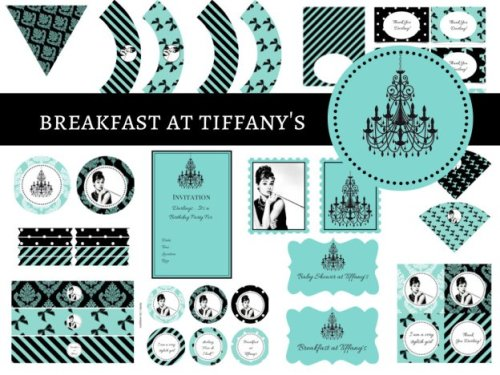 Breakfast at Tiffany's Baby Shower, Breakfast at Tiffany's