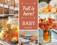 Fall - Autumn Baby Shower Ideas - Baby Shower Ideas ...