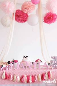 Pink Minnie Mouse Baby Shower - Baby Shower Ideas - Themes ...