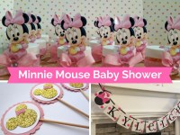 Minnie Mouse Baby Shower Decorations and Party Favors ...