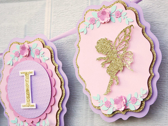Beautiful Fairy Themed Baby Shower Decorations And Party Favors Baby