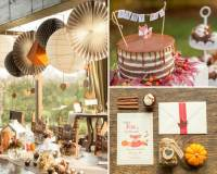 Little Fox Fall Baby Shower - Baby Shower Ideas - Themes ...