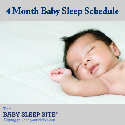 4 Month Old Baby Schedule The Baby Sleep Site - Baby / Toddler