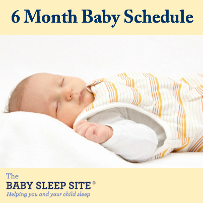 6 Month Old Baby Schedule The Baby Sleep Site - Baby / Toddler