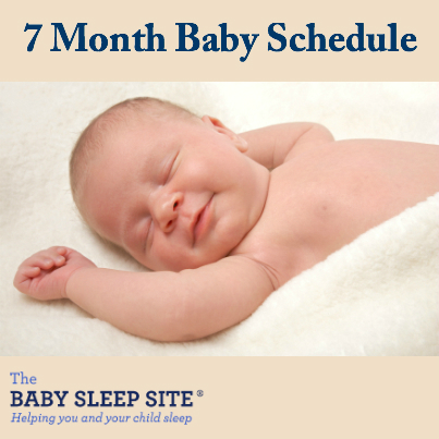 7 Month Old Baby Schedule The Baby Sleep Site - Baby / Toddler