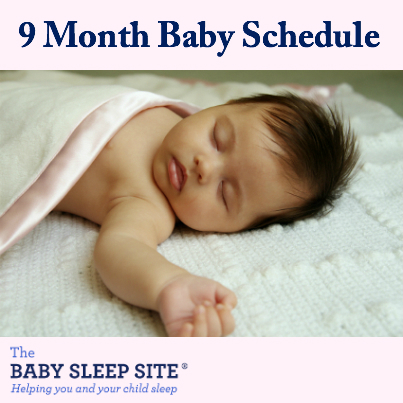 9 Month Old Baby Schedule The Baby Sleep Site - Baby / Toddler
