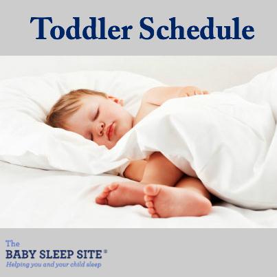 Your Toddler\u0027s Schedule The Baby Sleep Site - Baby / Toddler Sleep