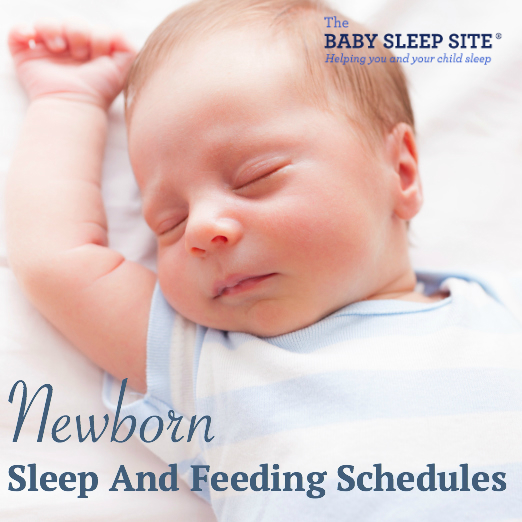 Newborn Baby Feeding and Sleep Schedule The Baby Sleep Site - Baby
