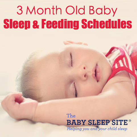 3 Month Old Baby Sleep and Feeding Schedules The Baby Sleep Site - baby feeding chart