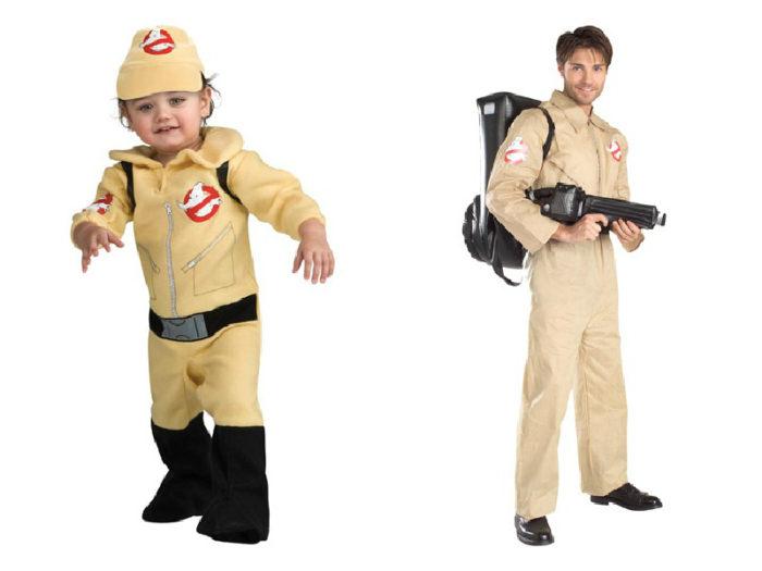 Halloween Costumes While Babywearing