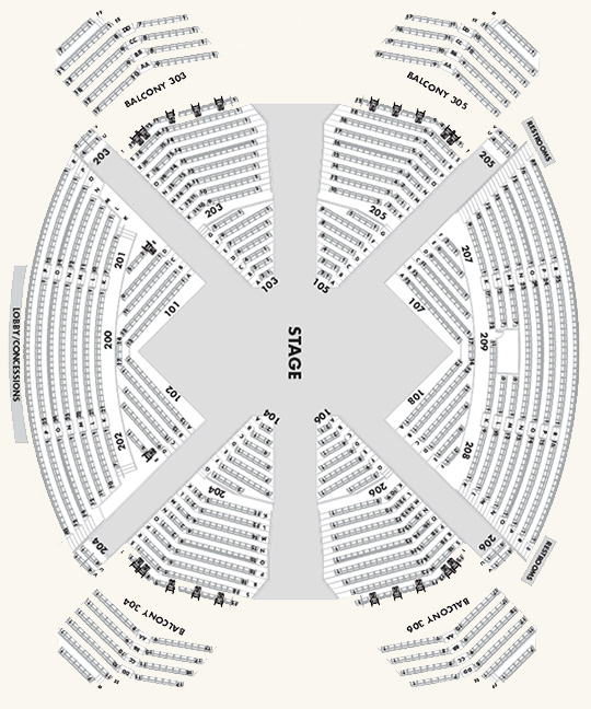 Beatles Love Seating Chart - 14 inspired love mirage seating chart
