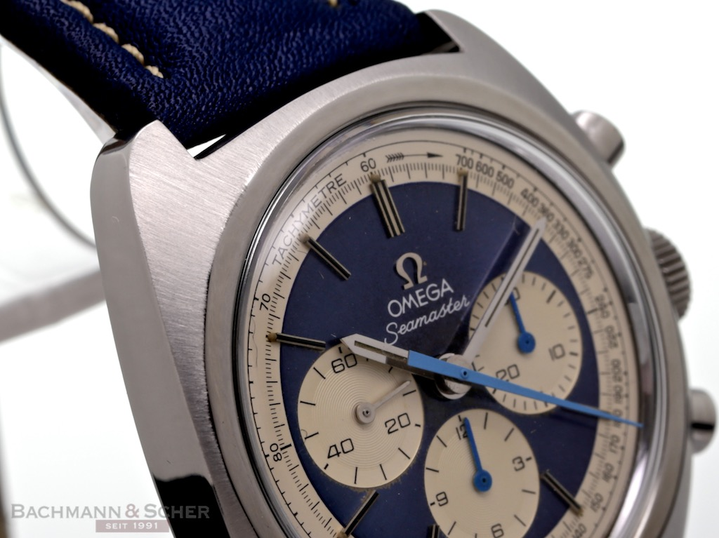 Omega Vintage Seamaster Chronograph Ref 145029 Stainless