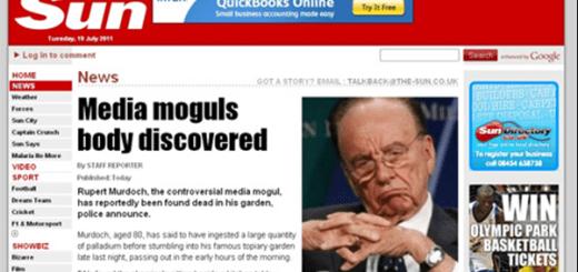 Rupert Murdoch is dead