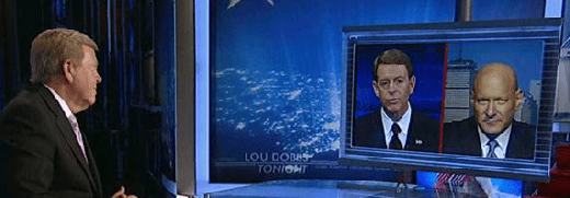 Lou Dobbs Tony Perkins