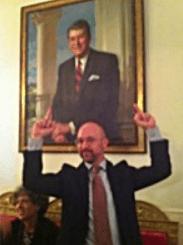Flip off Reagan