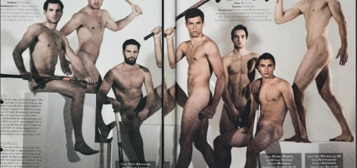 UK Hockey Team naked