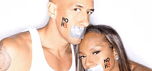 Dog and Jackie Christie - NOH8