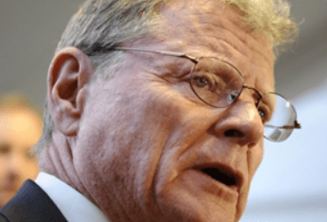 Inhofe cocksucker