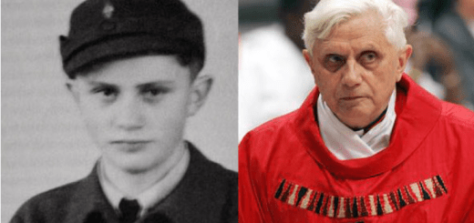 Pope Benedict Hitler Youth