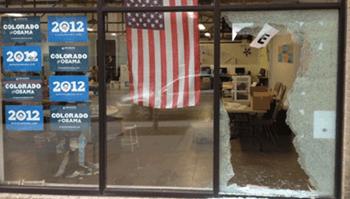 Gunshot Obama Headquarters Denver