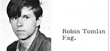 Robin Tomlin Yearbook fag